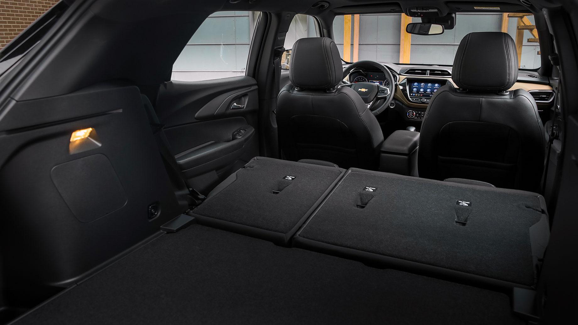 Считаем цилиндры под капотом кроссовера Chevrolet Trailblazer