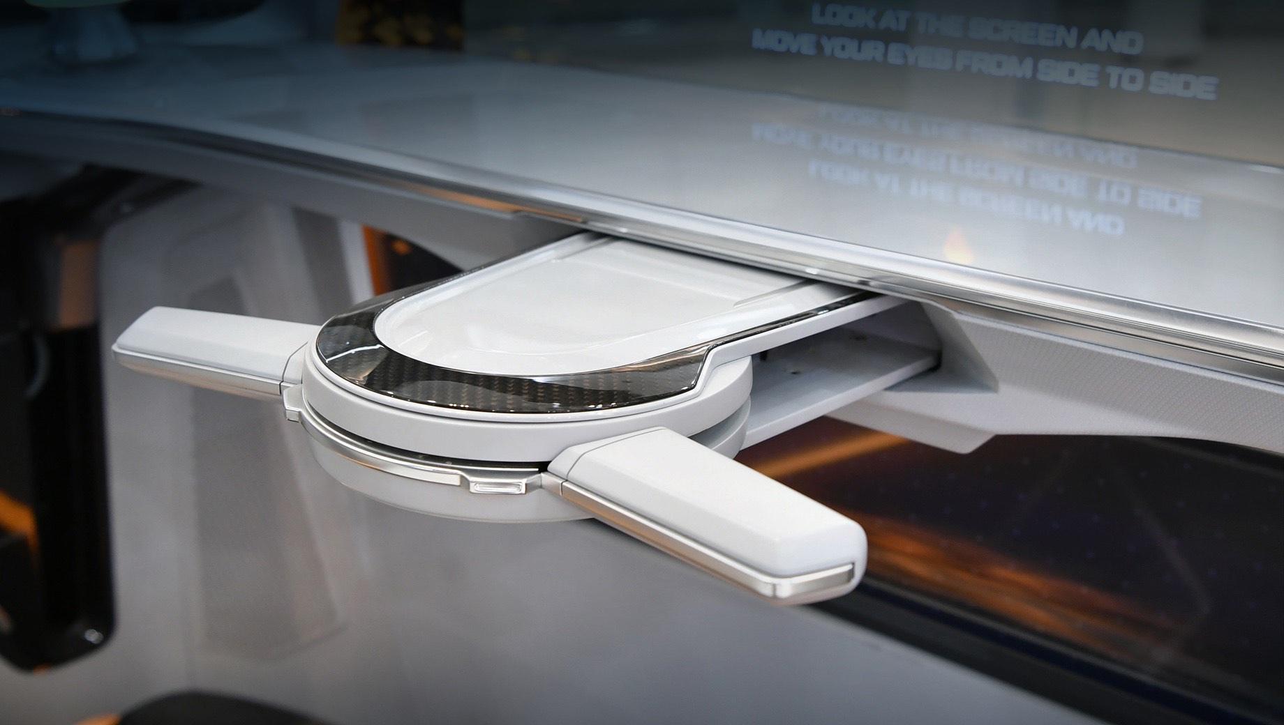 Hyundai обрисовал складную систему рулевого управления