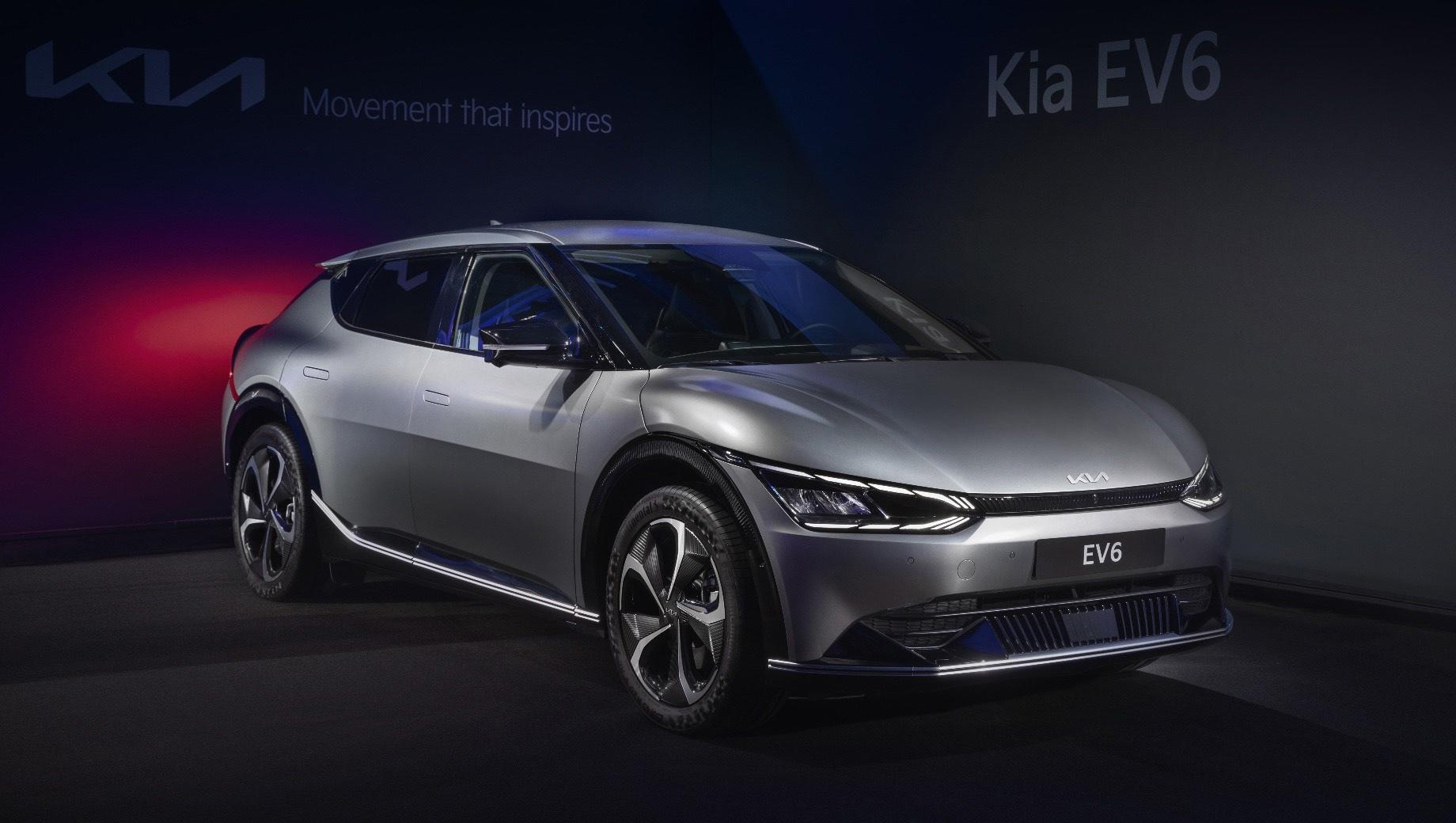 Российские продажи электрокара Kia EV6 начнутся в 2022 году