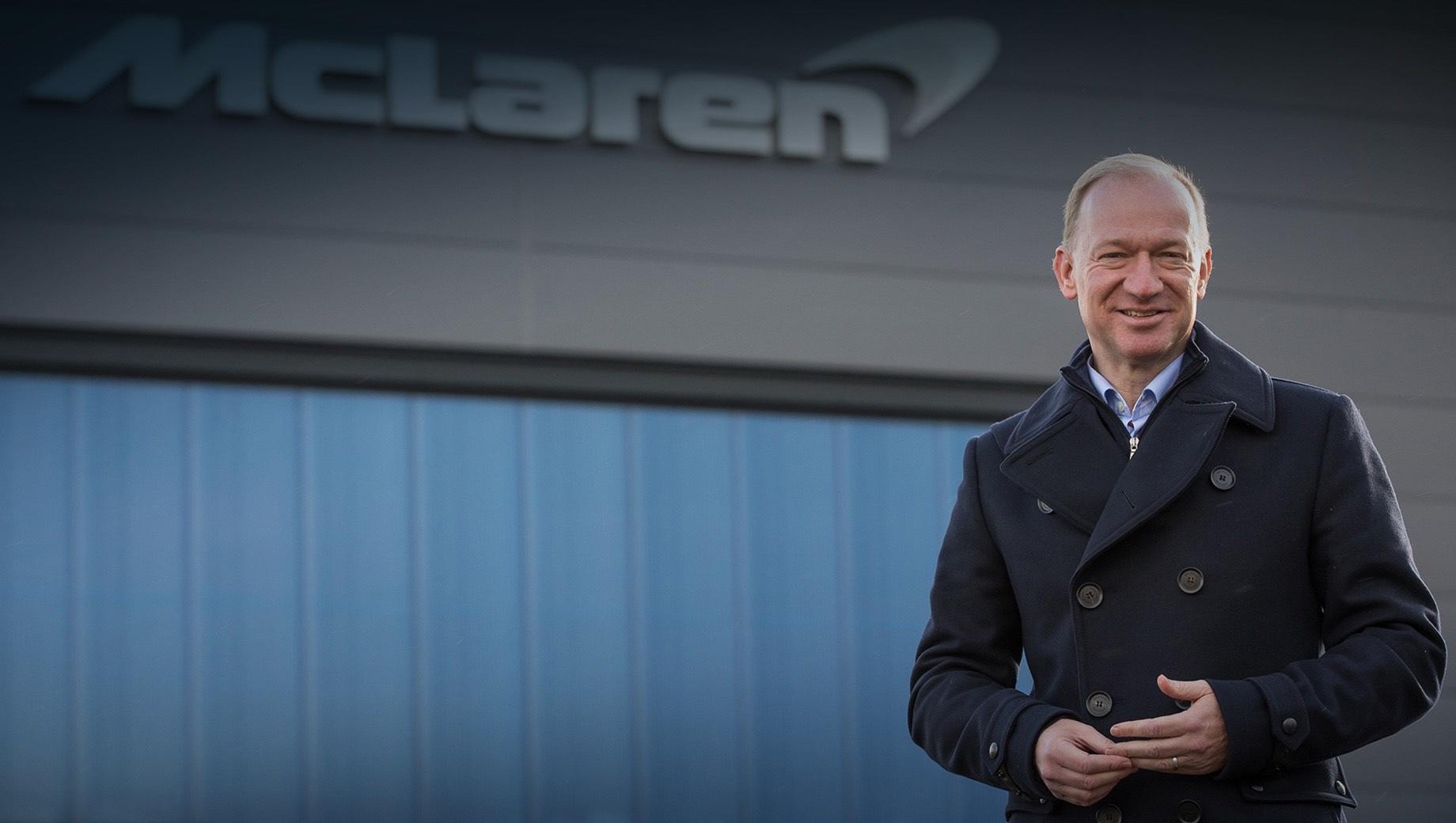 Фирма McLaren Automotive начала поиски нового гендиректора